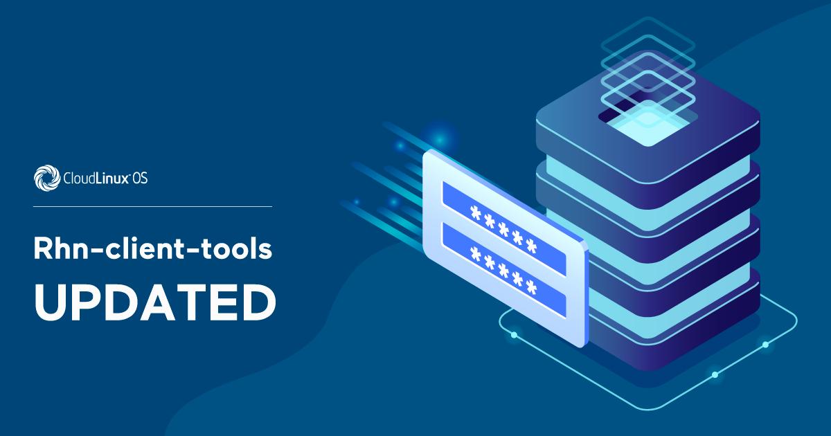 Rhn-client-tools