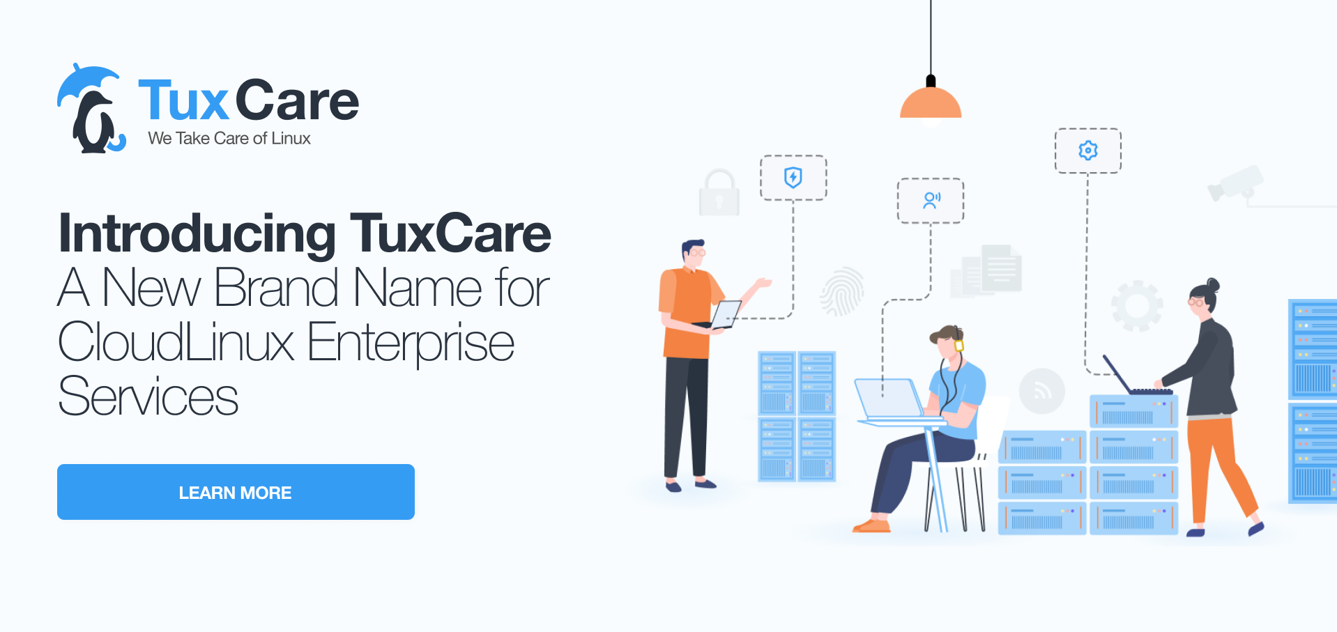 TuxCare - our new brand that brings together all Enterprise products